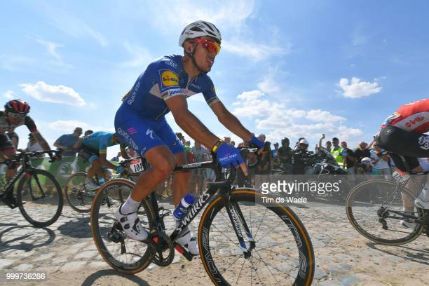 Philippe Gilbert of Belgium and Team QuickStep Floors / during the 105th Tour de France 2018 Stage 9 a 1565 stage from Arras Citadelle to Roubaix on...