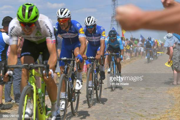 Philippe Gilbert of Belgium and Team QuickStep Floors / Fernando Gaviria of Colombia and Team QuickStep Floors / Nairo Quintana of Colombia and...