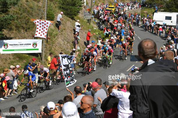 Philippe Gilbert of Belgium and Team Quick-Step Floors / ulian Alaphilippe of France and Team Quick-Step Floors Polka dot mountain Jersey / Col De La...