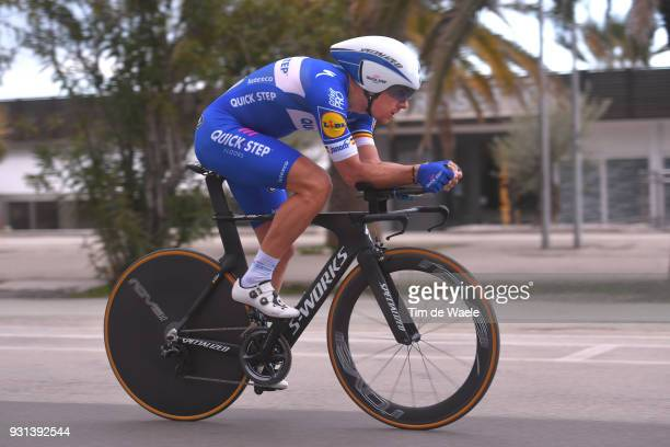 Philippe Gilbert of Belgium during the 53rd TirrenoAdriatico 2018 Stage 7 a 105km Individual Time Trial stage in San Benedetto Del Tronto on March 13...