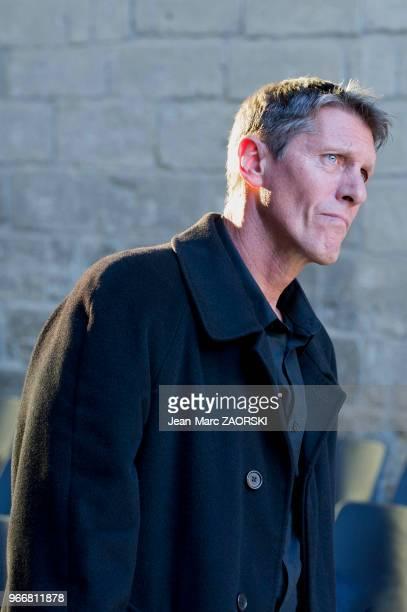 Philippe Girard dans 'Les suppliantes Eschyle pièces de guerre' une adaptation pour le théâtre mise en scène par Olivier Py et présentée en tant que...