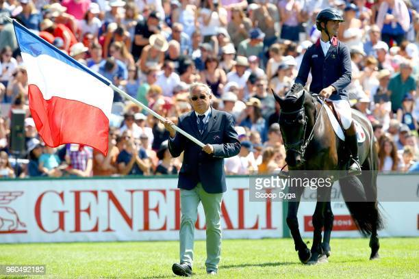 Philippe Guerdat French team chief during the Longines FEI Jumping Coupe des Nations de France on May 20 2018 in La Baule France
