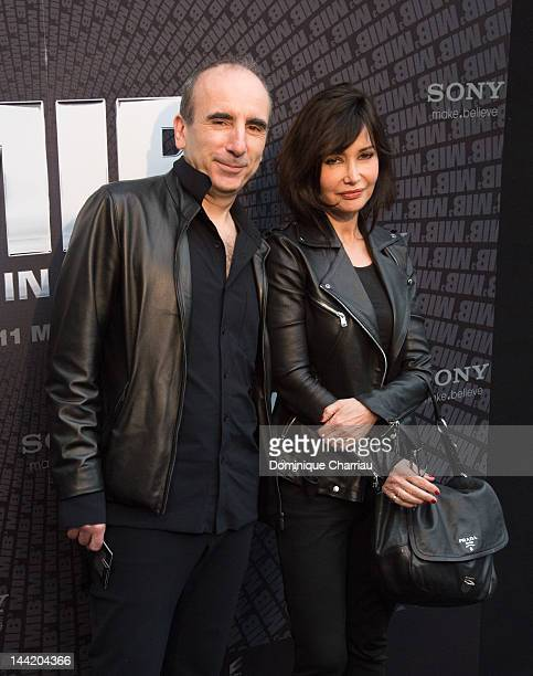 Philippe Hare and Evelyne Bouix attend 'Men In Black 3' European Premiere at Le Grand Rex on May 11 2012 in Paris France