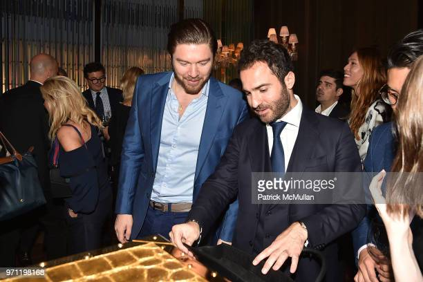 Philippe HoerleGuggenheim and Philippe Vasilescu attend Christopher R King Debuts New Luxury Brand CCCXXXIII at Baccarat Hotel on June 5 2018 in New...