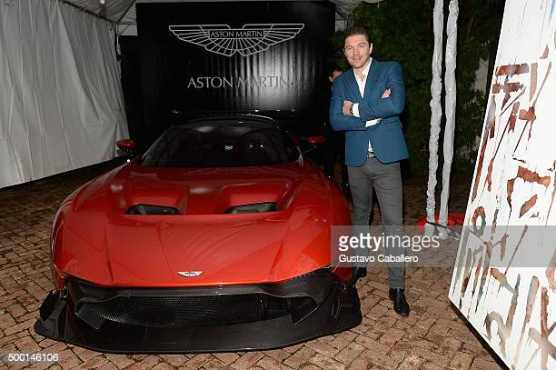 Philippe HoerleGuggenheim attends SHOPcom celebration of art with Phillipe HoerleGuggenheim presenting RETNA hosted by JR Loren Ridinger Aston Martin...