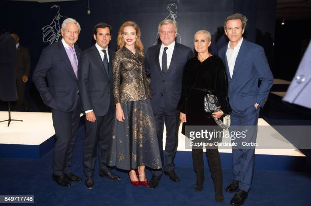 Philippe Houze Nicolas Houze Natalia Vodianova Sidney Toledano Maria Grazia Chiuri and Guillaume Houze attend Christian Dior Celebrates 70 Years of...