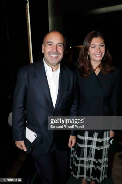 Philippe Journo and Countess Cordelia de Castellane attend 'Cendrillon' choregraphing by Rudolf Noureev during 'Reve d'Enfant' Charity Gala at Opera...