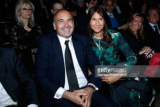 Philippe Journo and his wife attend the AROP Charity Gala with the Opera 'Le Roi Arthus' Music and Libretto from Ernest Chausson Held at Opera...