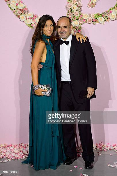 Philippe Journo and his Wife attend the Ballet National de Paris Opening Season Gala at Opera Garnier on September 24 2015 in Paris France