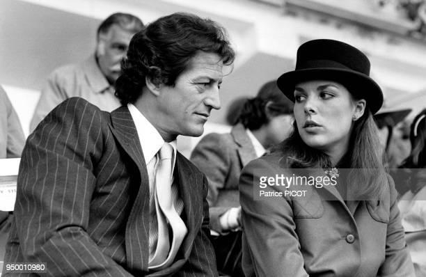 Philippe Junot et la princesse Caroline de Monaco, le 2 octobre 1978.