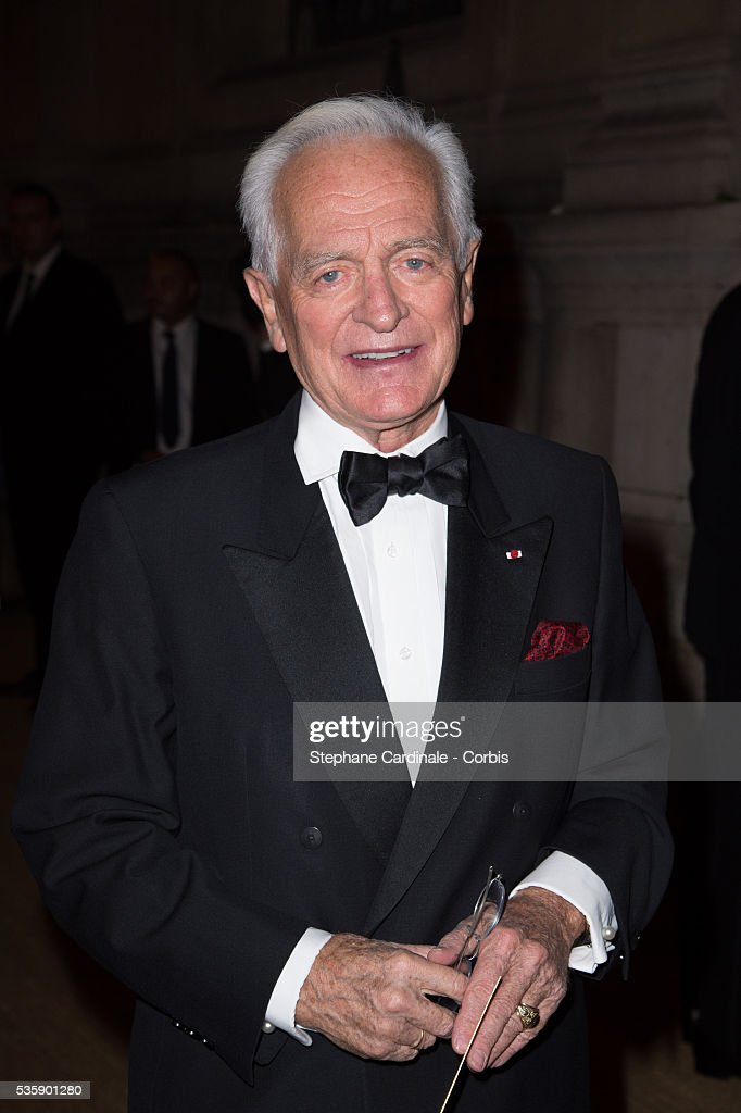 Philippe Labro arrives at a Ralph Lauren Collection Show and private dinner at Les Beaux-Arts de Paris on October 8, 2013 in Paris, France. On this occasion Ralph Lauren celebrates the restoration project and patron sponsorship of 'L'Ecole des Beaux-Arts'.