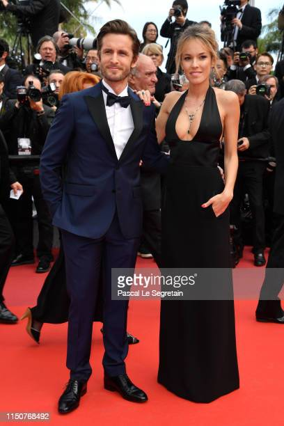 """Philippe Lacheau and Elodie Fontan attends the screening of """"Once Upon A Time In Hollywood"""" during the 72nd annual Cannes Film Festival on May 21,..."""