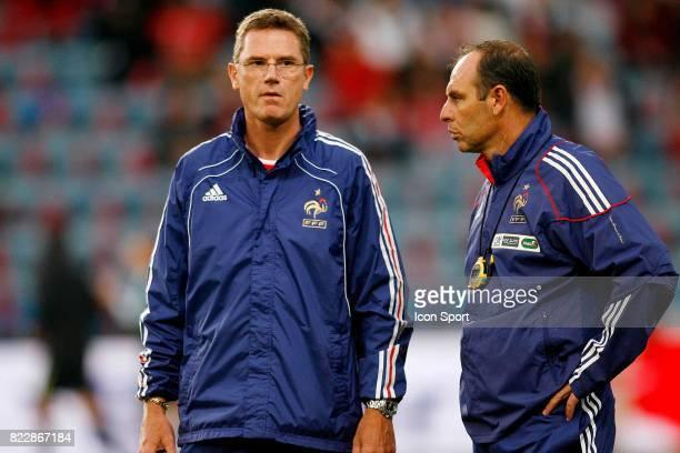 Philippe Lambert / Alain Boghossian Norvege / France Match Amical Ullevall Stadium Oslo