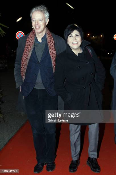 Philippe Le Guay Liane Foly attend opening ceremony during Valenciennes Film Festival on March 21 2018 in Valenciennes France