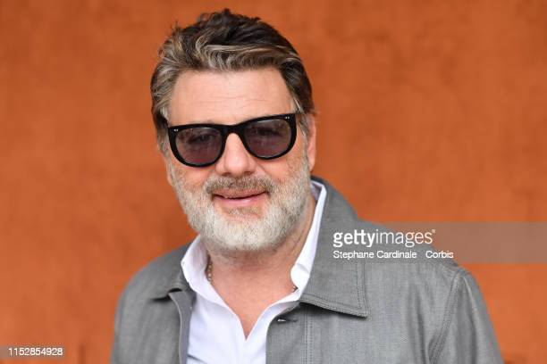 Philippe Lellouche attends the 2019 French Tennis Open Day Six at Roland Garros on May 31 2019 in Paris France