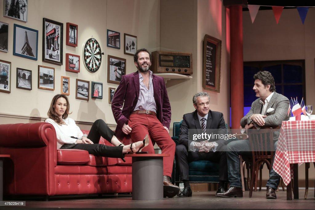 'L'Appel De Londres' : Theater Play At Theatre Du Gymnase
