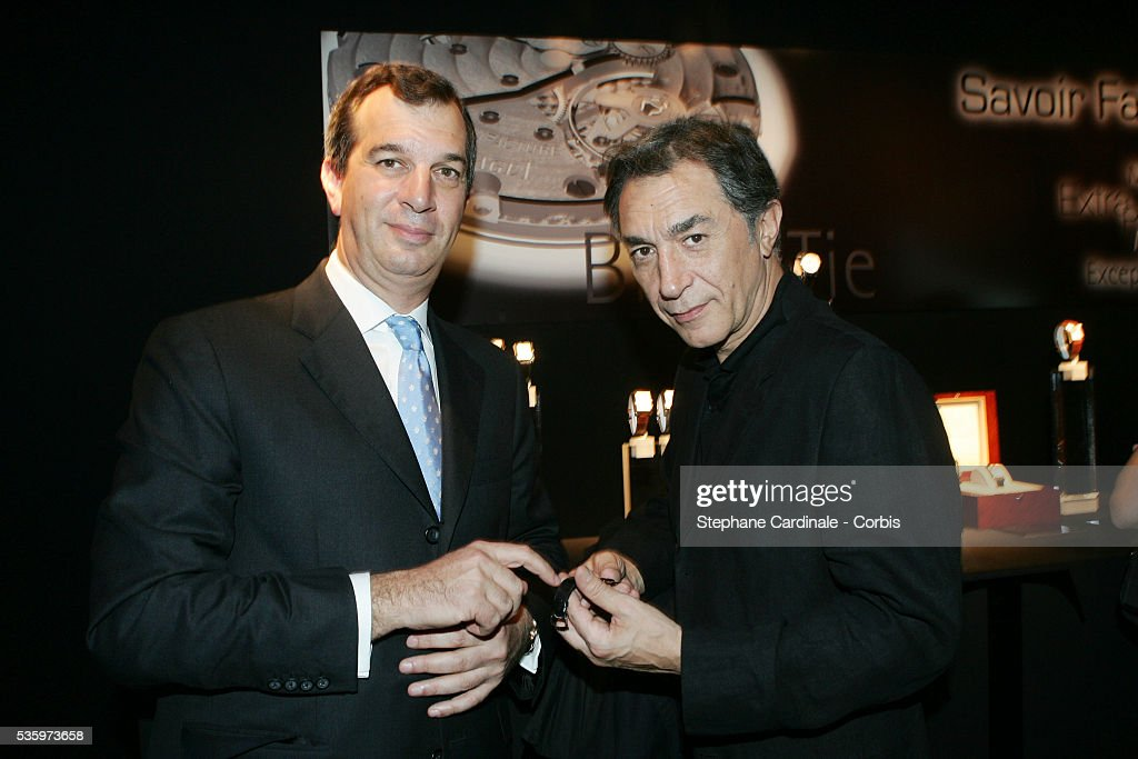 Philippe Leopold Metzger and Richard Berry attend the Piaget Party: Garden of the Senses.