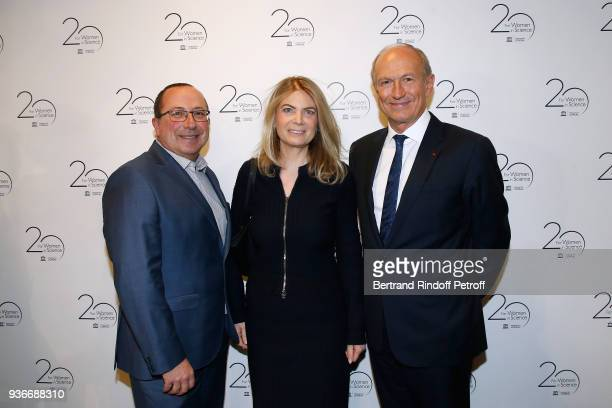Philippe Levecque Chairman Chief Executive Officer of L'Oreal and Chairman of the L'Oreal Foundation JeanPaul Agon and his wife Sophie attend the...
