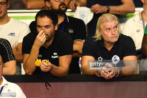 Philippe Lucas Coach of Montpellier of the French National Swimming Championships on December 3 2017 in Montpellier France