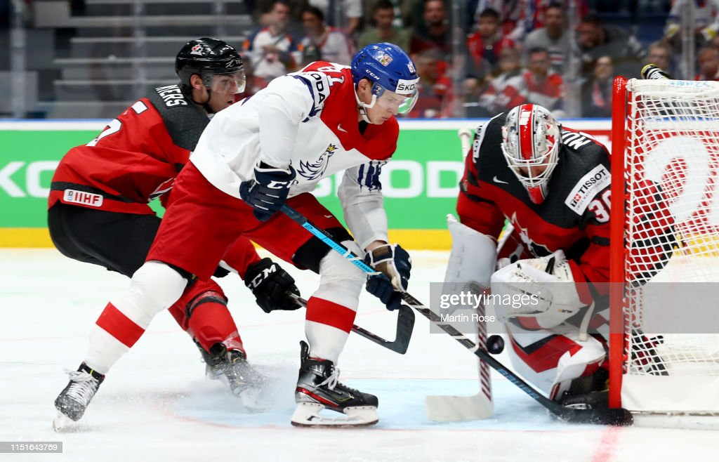 SVK: Canada v Czech Republic: Semi Final - 2019 IIHF Ice Hockey World Championship Slovakia