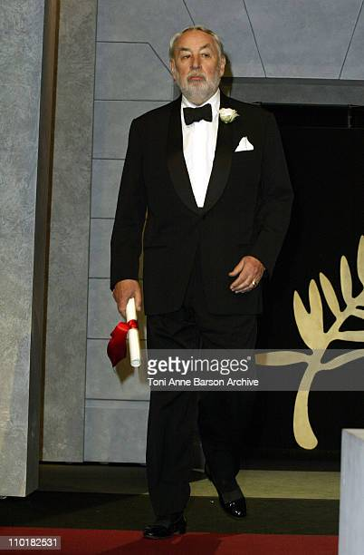 Philippe Noiret during 2003 Cannes Film Festival Closing Ceremony Show at Palais des Festivals in Cannes France