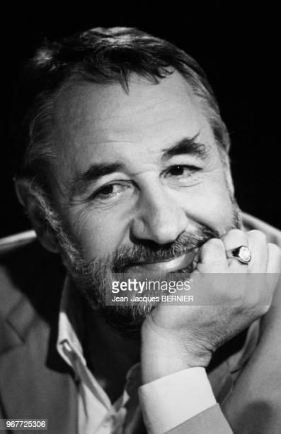 Philippe Noiret invité de l'émission 7/7 le 24 septembre 1984 Paris France