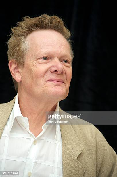 Philippe Petit at The Walk Press Conference at the Ritz Carlton Hotel on October 4 2015 in New York City