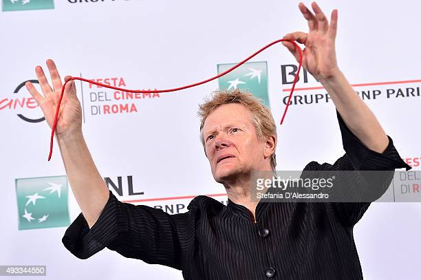 Philippe Petit attends a photocall for 'The Walk 3D' during the 10th Rome Film Fest on October 19 2015 in Rome Italy