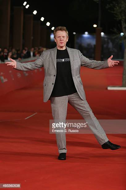 Philippe Petit attends a red carpet for 'The Walk 3D' during the 10th Rome Film Fest on October 19 2015 in Rome Italy
