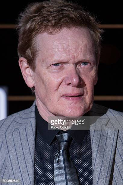 Philippe Petit attends the 'El Desafio' premiere at 'Torre Picasso' on December 10 2015 in Madrid Spain