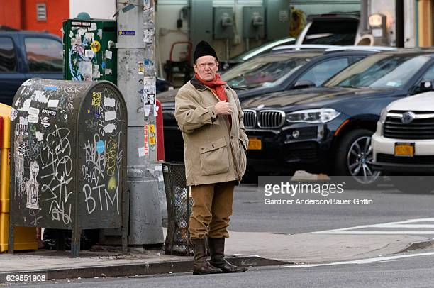 Philippe Petit is seen on December 14 2016 in New York City