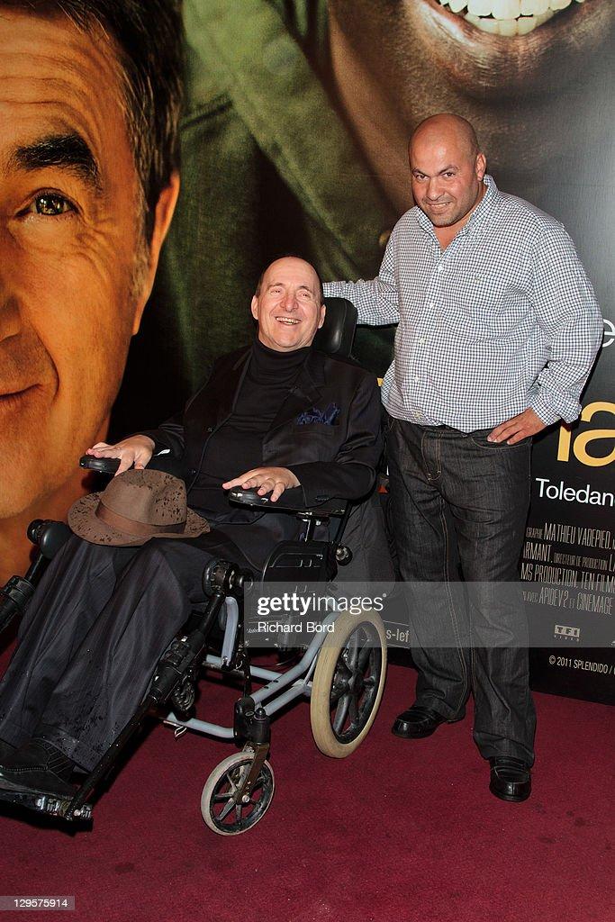 Philippe Pozzo Di Borgo and Abdel Sellou attend the Paris