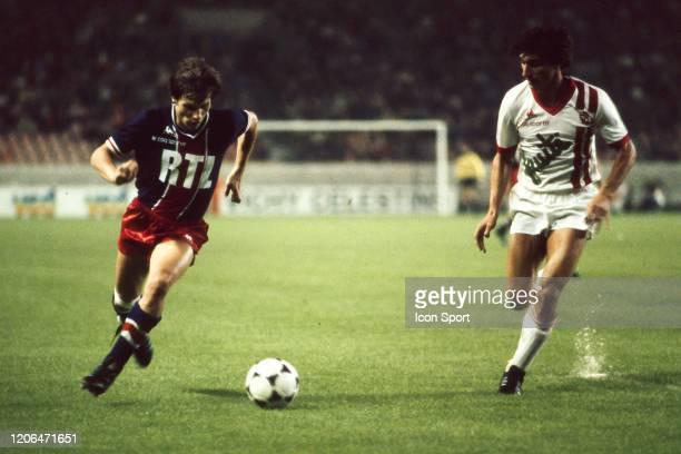 Philippe Redon of PSG during the Division 1 match between Paris Saint Germain and Nancy at Parc des Princes Paris France on May 2nd 1978