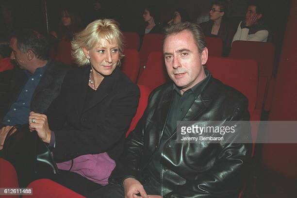 Philippe Risoli and his wife