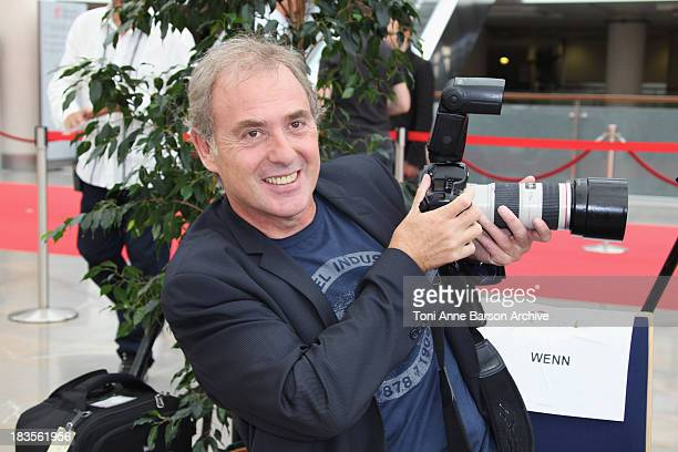 Philippe Risoli attends a photocall at the Grimaldi Forum on June 7 2010 in MonteCarlo Monaco