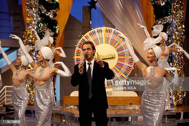 Philippe Risoli French TV host of 'Millionnaire' tv show In Paris France On November 25 1993