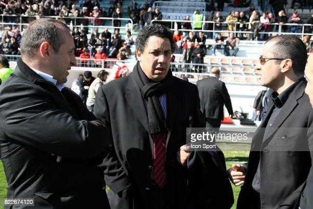 Philippe SAINT ANDRE / Serge BLANCO / Mourad BOUDJELLAL - -Toulon / Biarritz - 21e journee Top 14,
