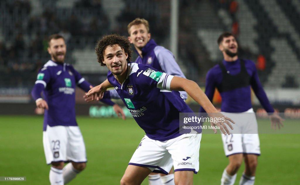 Sporting Charleroi v RSC Anderlecht - Jupiler Pro League : News Photo