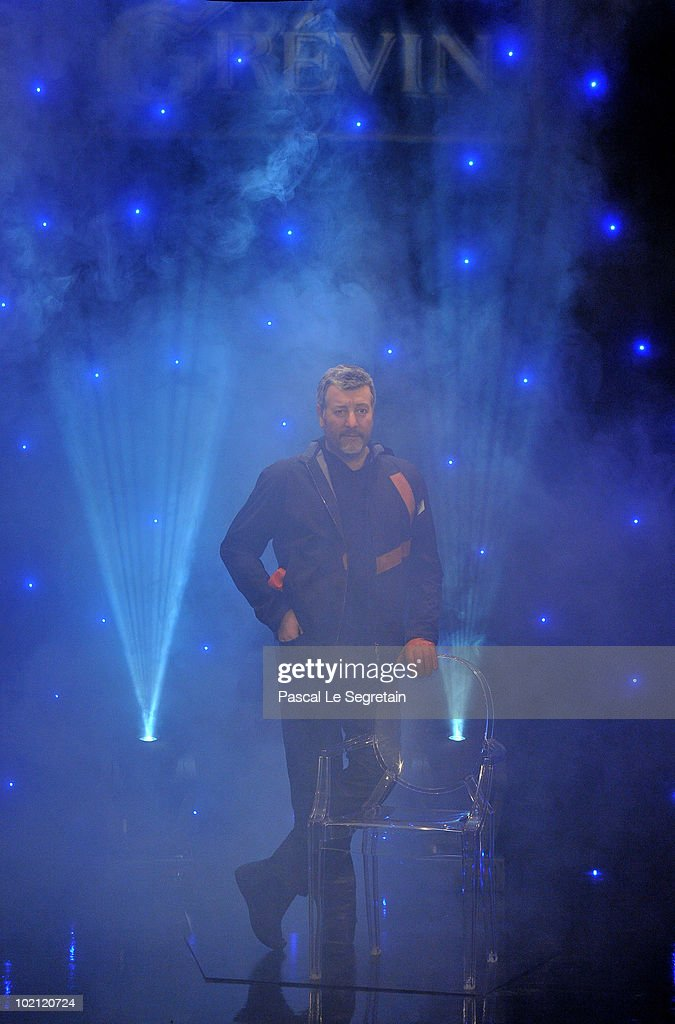 Philippe Starck wax figure is seen at Musee Grevin on June 15, 2010 in Paris, France.