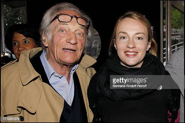 Philippe Tesson and daughter Daphne at Launch Of Web Site Of Drunk Driving Awareness Association Ferdinand Chesnais