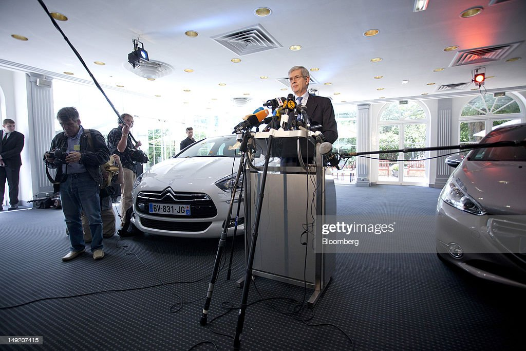 Peugeot Profit Plunges