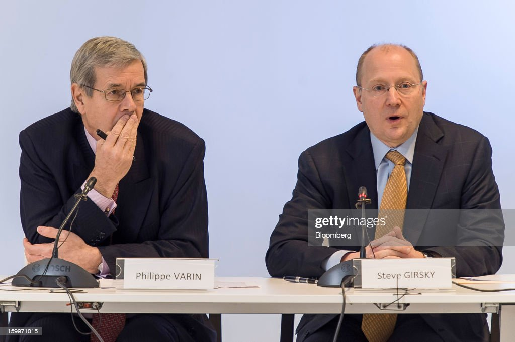 Peugeot CEO Philippe Varin & GM Vice Chairman Steve Girsky News Conference