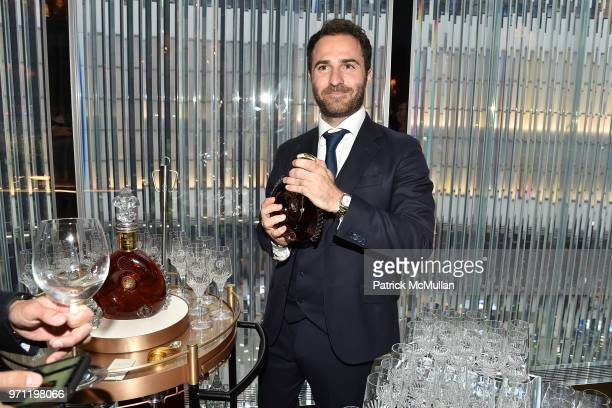 Philippe Vasilescu attends Christopher R King Debuts New Luxury Brand CCCXXXIII at Baccarat Hotel on June 5 2018 in New York City