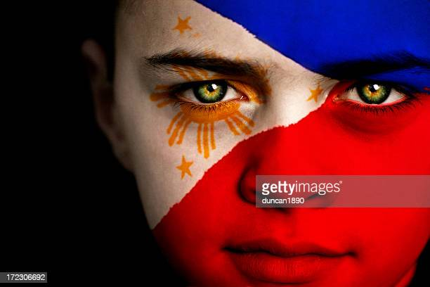 philippine boy - philippines flag stock pictures, royalty-free photos & images