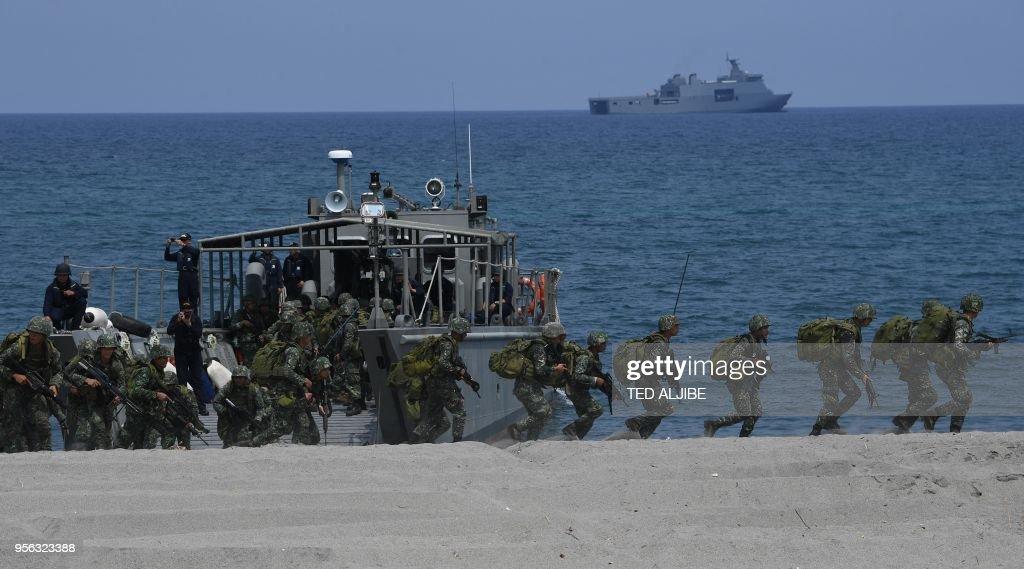 PHILIPPINES-US-CHINA-MARITIME : News Photo