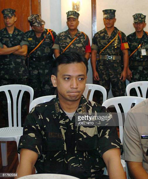 Philippine Navy Lieutenant Senior Grade Antonio Trillanes one of the alleged ring leaders of a failed mutiny against President Gloria Arroyo last...
