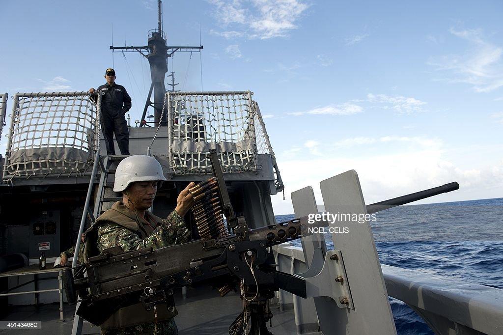 PHILIPPINES-US-CHINA-MARITIME-DIPLOMACY : News Photo