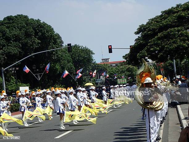 Philippine Navy's musical performance during the 117th Independence Day celebration held in Manila