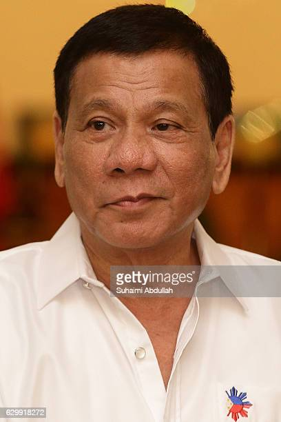 Philippine President Rodrigo Duterte is seen at the Istana on December 15 2016 in Singapore Duterte is on a twoday visit to Singapore