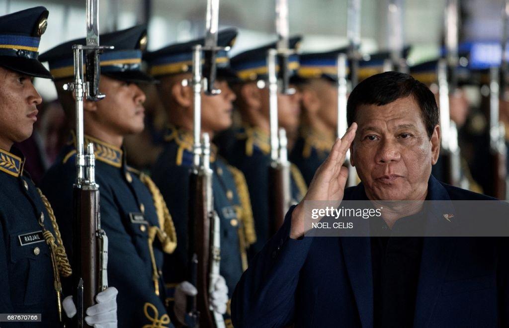 PHILIPPINES-POLITICS-DUTERTE : News Photo